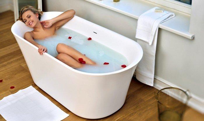 Расслабляющая ванна с морской солью