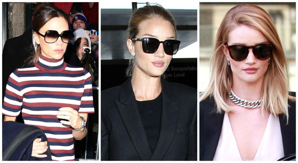 Затемнённые очки для девушки