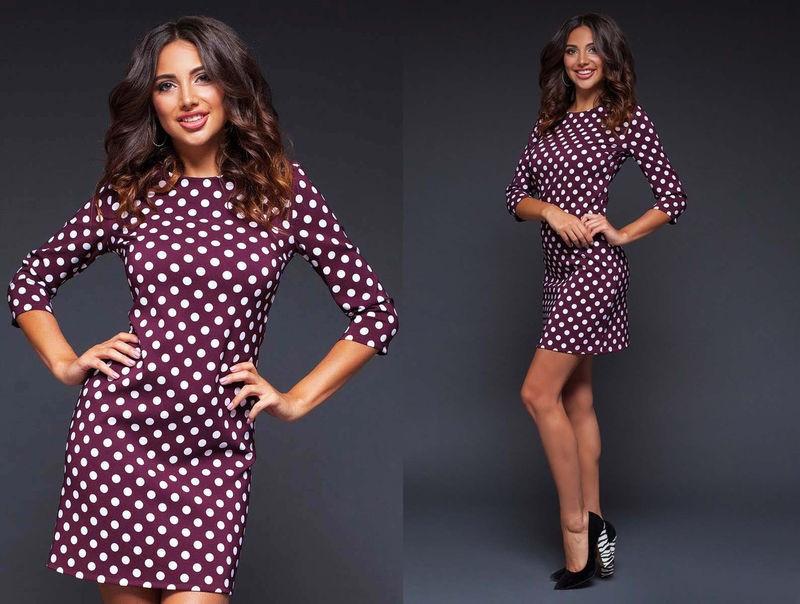 Короткое платье-футляр