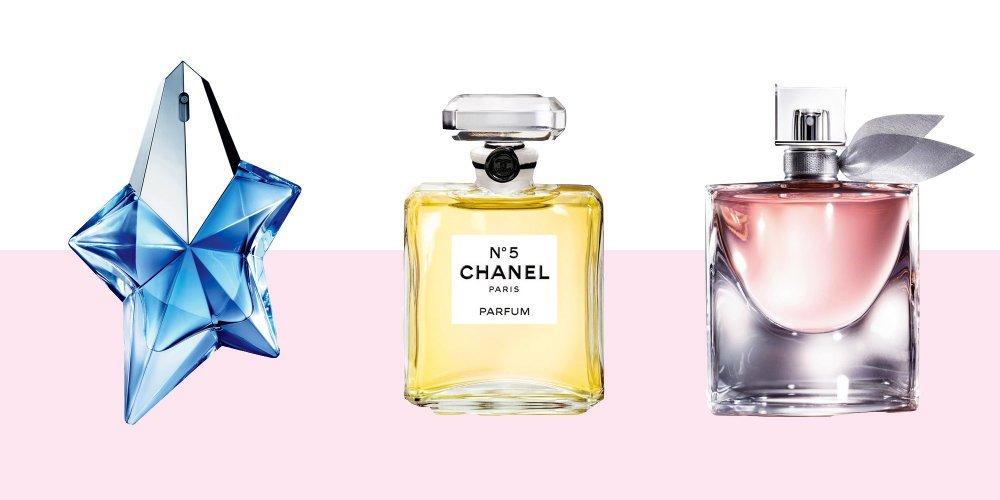 Thierry Mugler, Chanel, Lancome