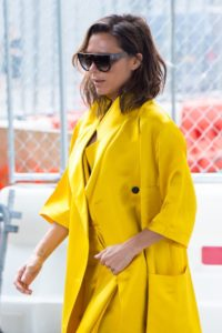 Яркий жёлтый
